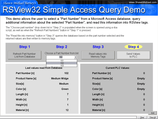 Shawns-RSView32-Access-Query