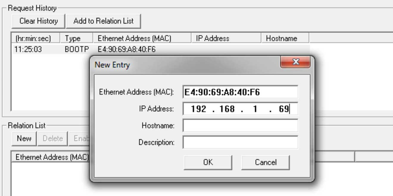 How to set a CompactLogix Ethernet address using BOOTP
