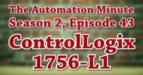 Episode 43 from Season 2 of The Automation Minute 1