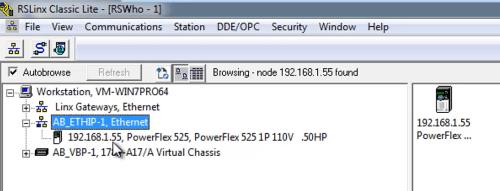 Set a PowerFlex 525's Ethernet IP Address using its Keypad - The