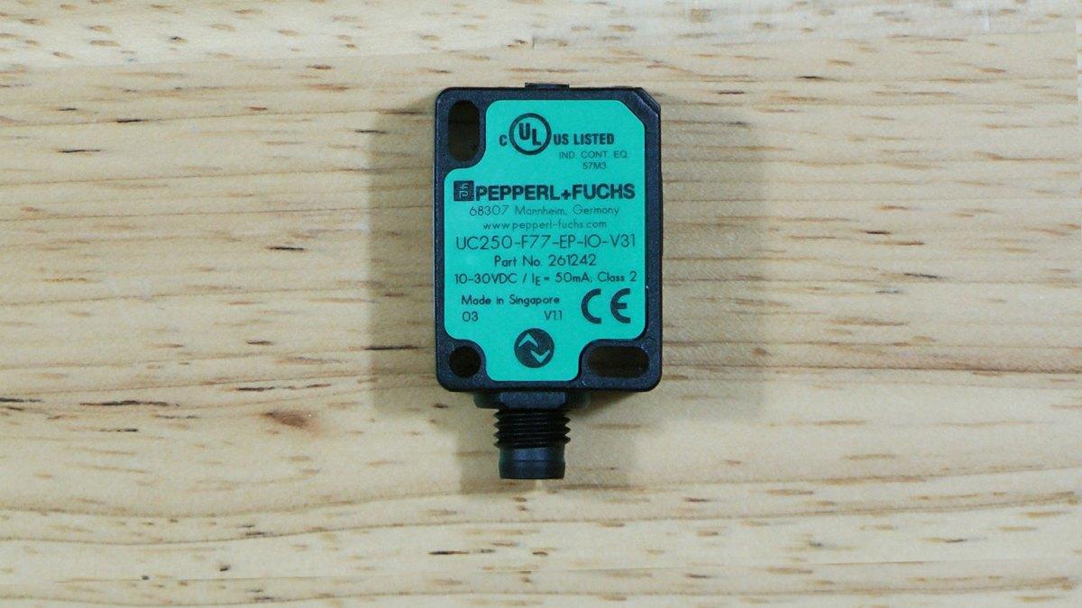 First Look: Ultrasonic Sensor with IO-Link, Pepperl+Fuchs UC250-F77-EP-IO