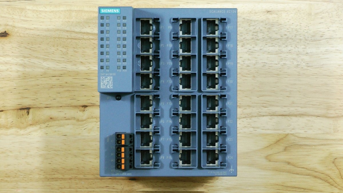 First Look: SCALANCE XC124 Unmanaged Switch from Siemens