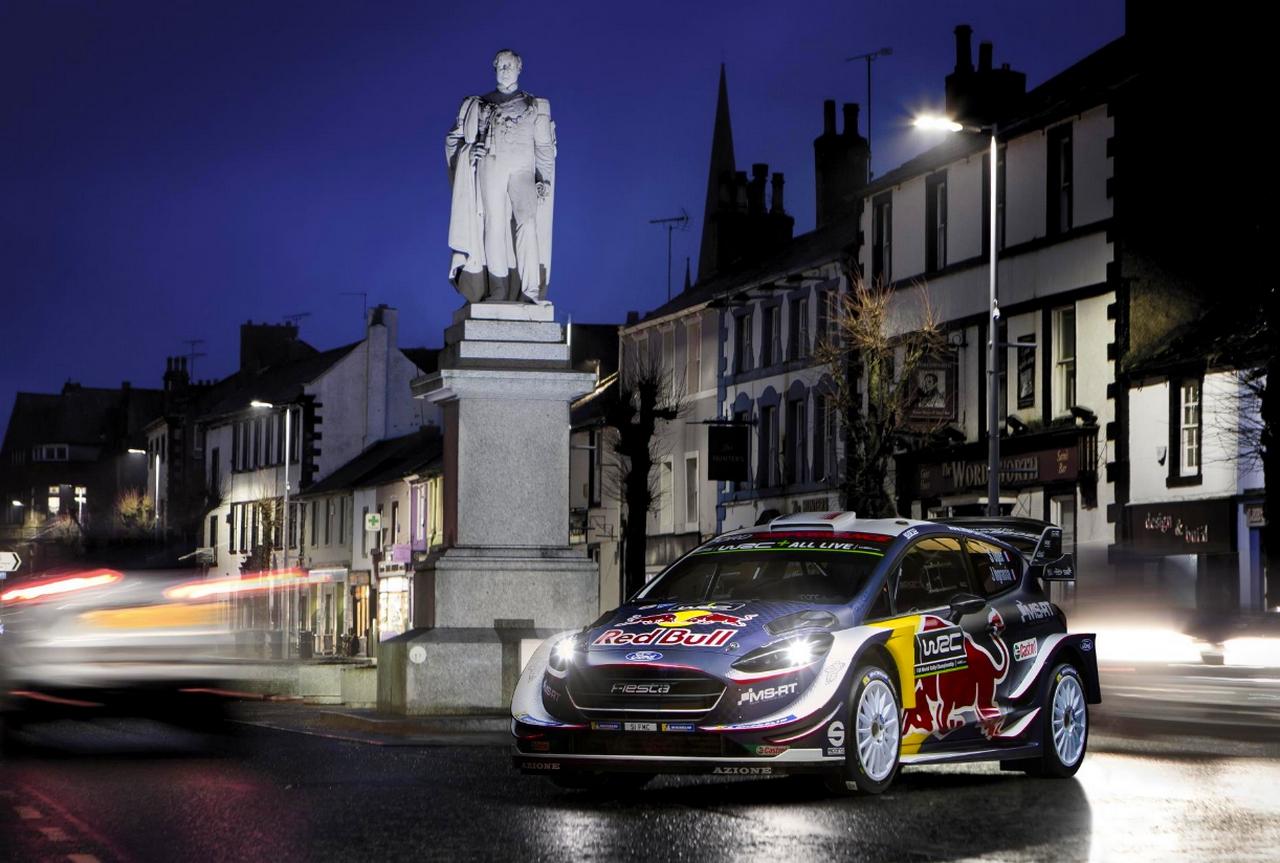 Voici la nouvelle Ford Fiesta WRC de Sébastien Ogier