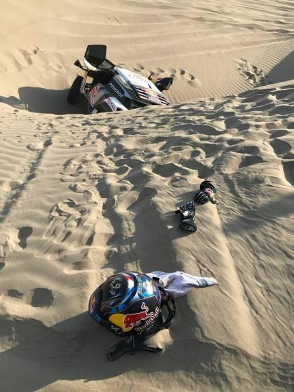 Loeb et Elena abandonnent dans le Dakar 2018.1