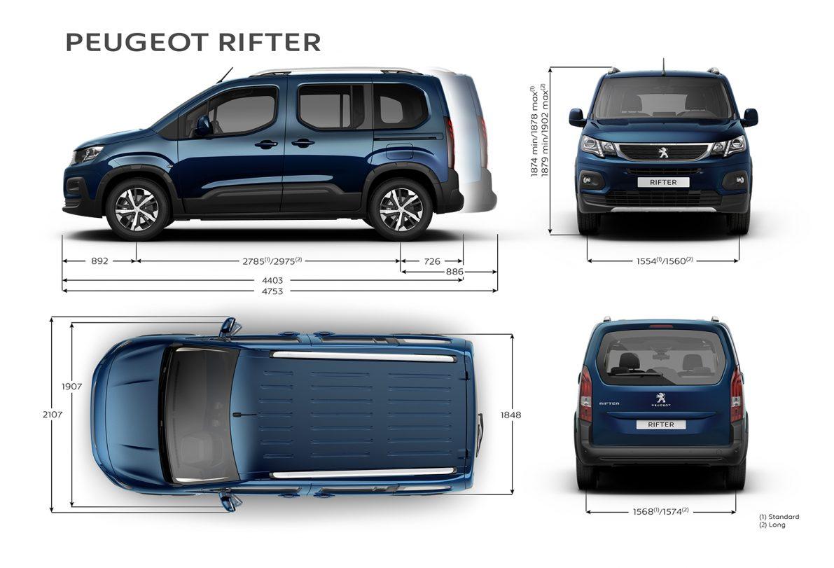 peugeot rifter 2018 the new partner the automobilist. Black Bedroom Furniture Sets. Home Design Ideas