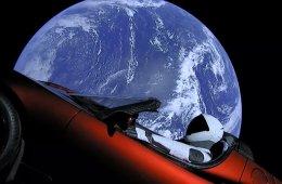 Starman Telsa Roadster SpaceX