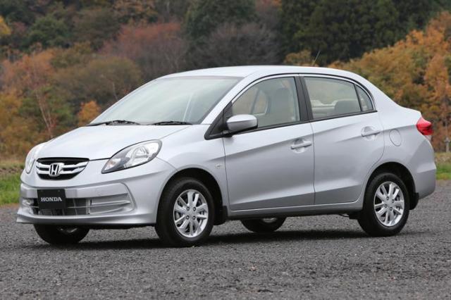 Honda amaze side profile