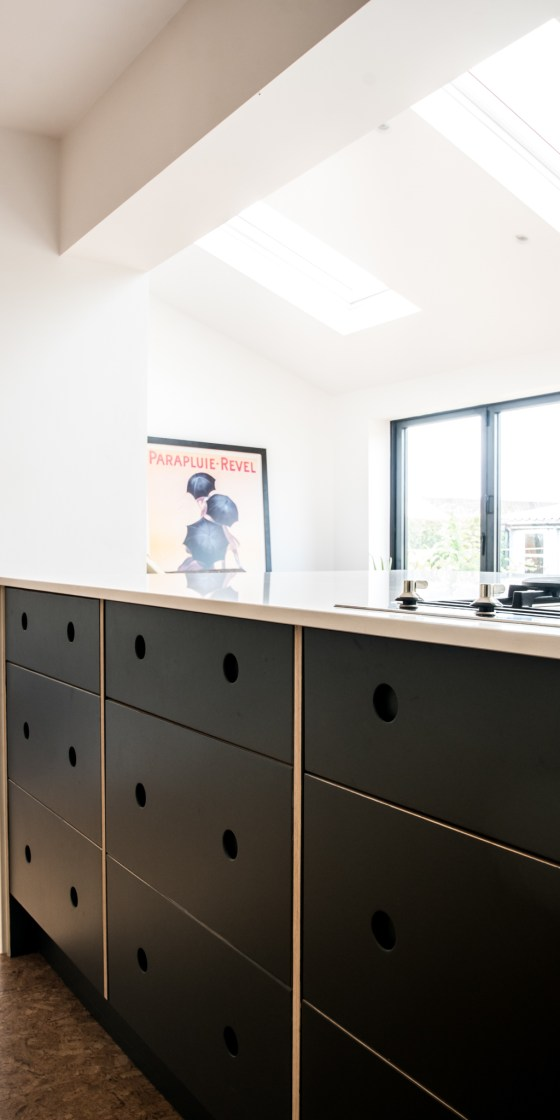 Modern bespoke Eco Kitchen By The Autumn Kitchen