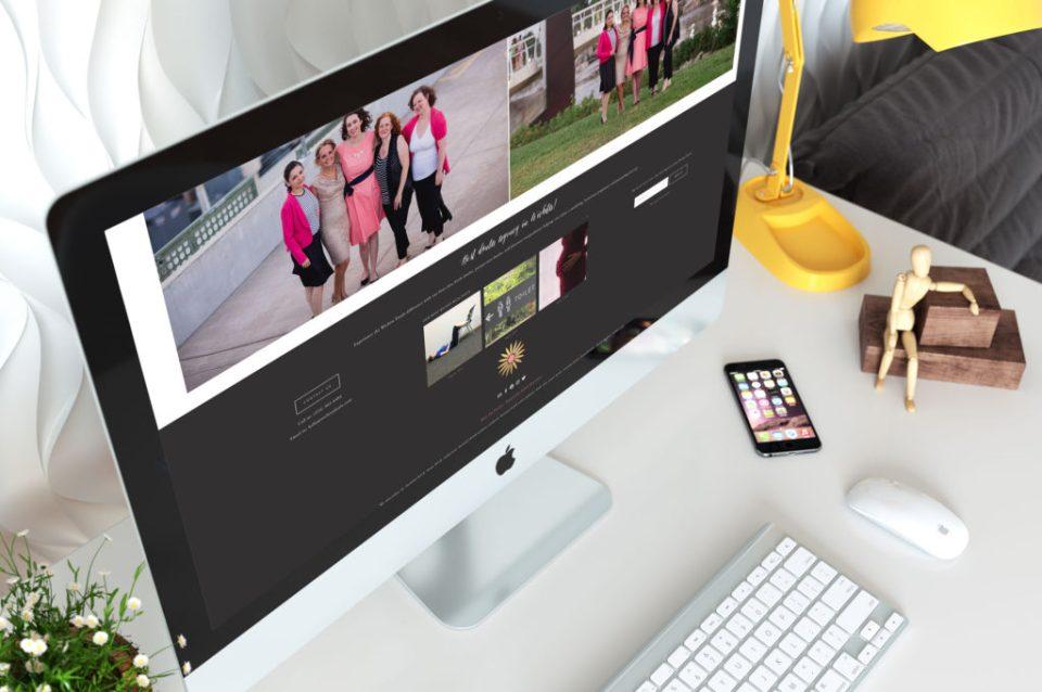 new Squarespace website design for wichita doula