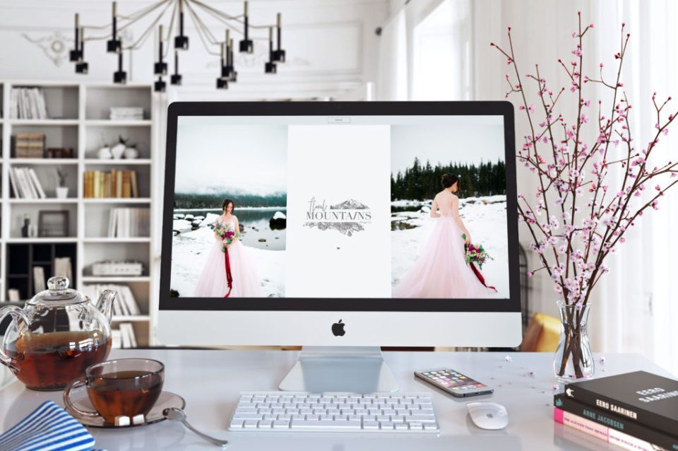 Custom Showit 5 website for Floral Mountains Design Co.