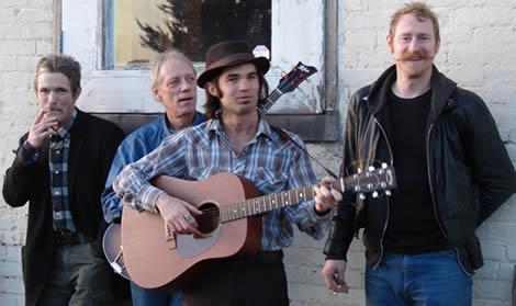 The Kondors: Buddy Stubbs, Jon Faurot, Willie Rubio, Jubal Steadman. Photo by Calvin Turnbull.