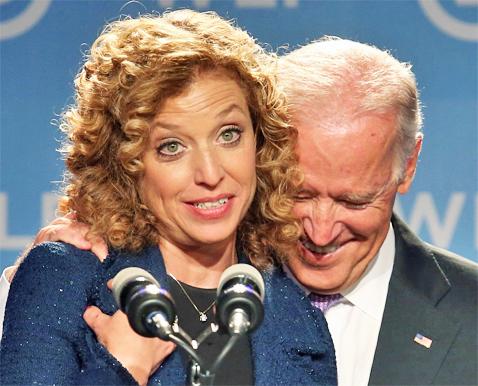 Wasserman-Schultz, VP Biden