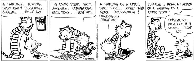 calvin-and-hobbes-high-art-low-art