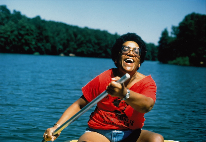 "Audre Lorde, who said ""there is no such thing as a single issue struggle because we do not live single issue lives."""