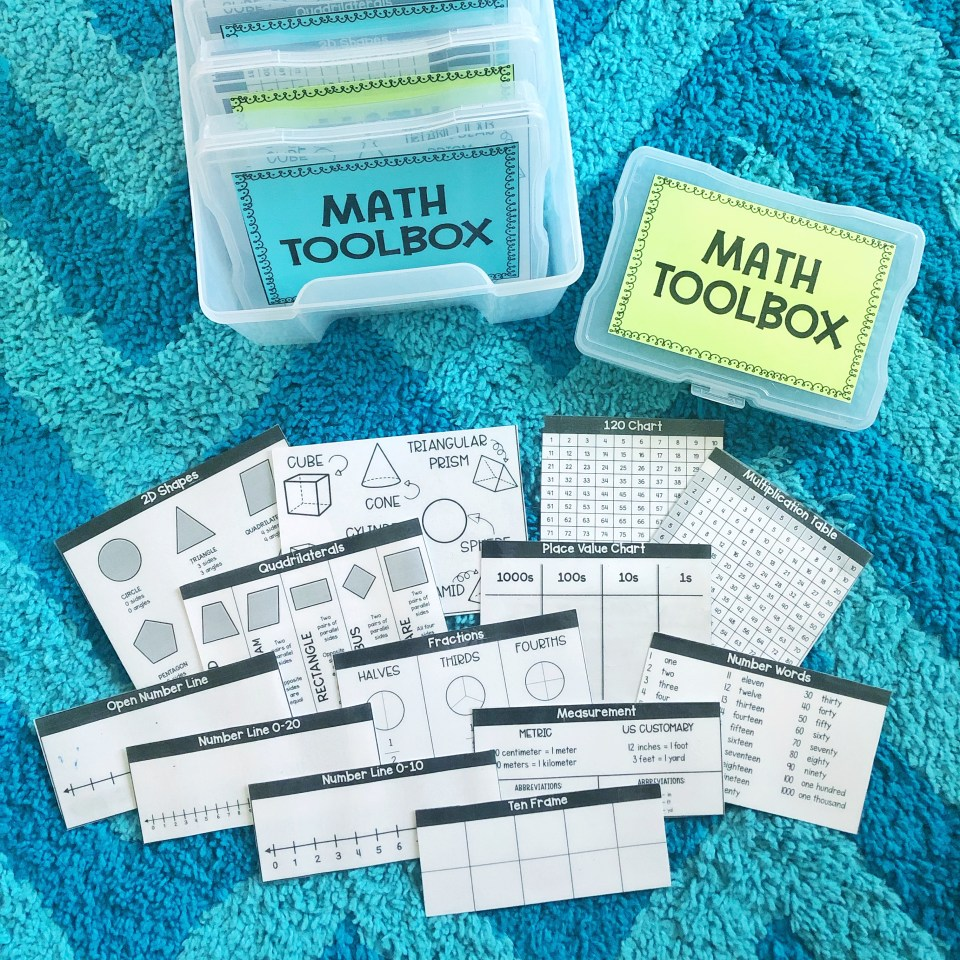 reference materials in math toolbox