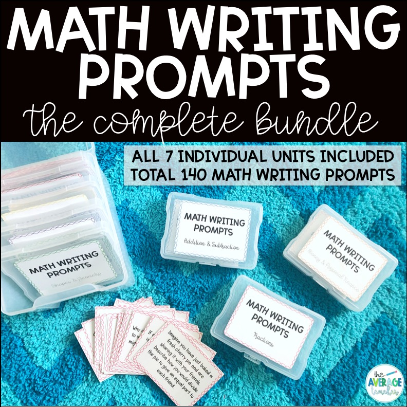 writing in math - math writing prompts