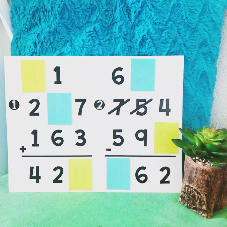 This math missing number challenge is a great early finisher activity for your students!