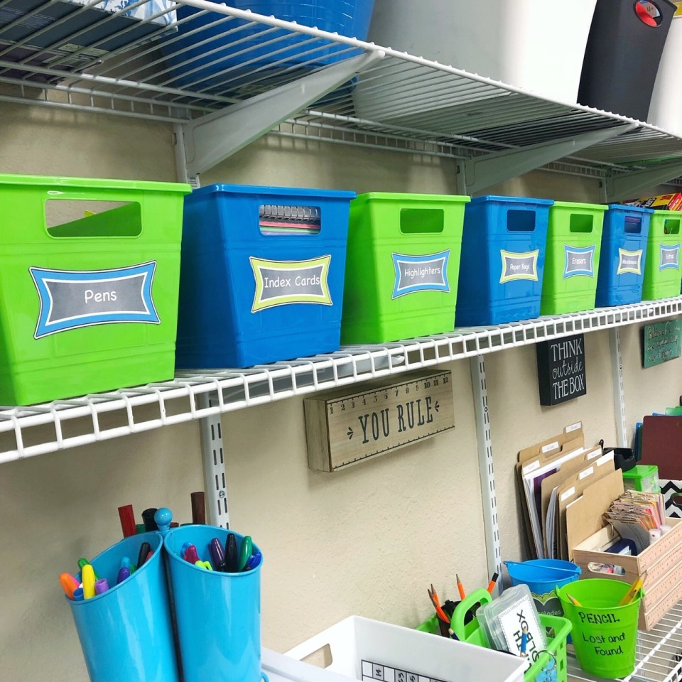 Classroom organization hacks for moving classrooms