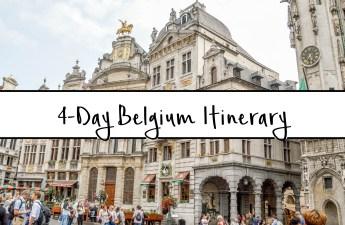 4-Day Belgium Itinerary