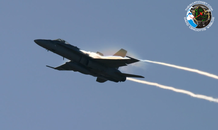 F-18 condensation cloud 2