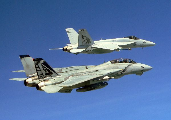 F-14 vs F-18: which one would you fly in combat? – The