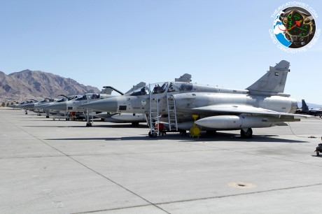Mirage 2000's 71;76;86 Sqd. UAE. Nellis 28.02.2013