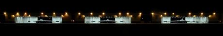 B-2 Night hangars