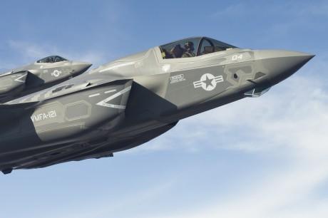 F-35 close up