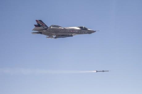 F-35 first AIM-120