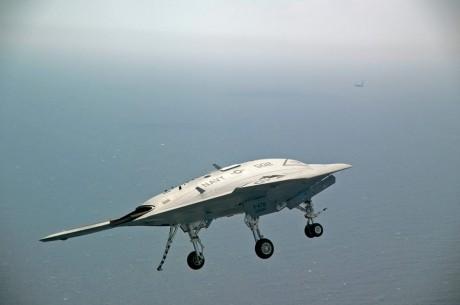 X-47B arrestor hook