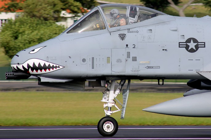 A-10 sharkmouth