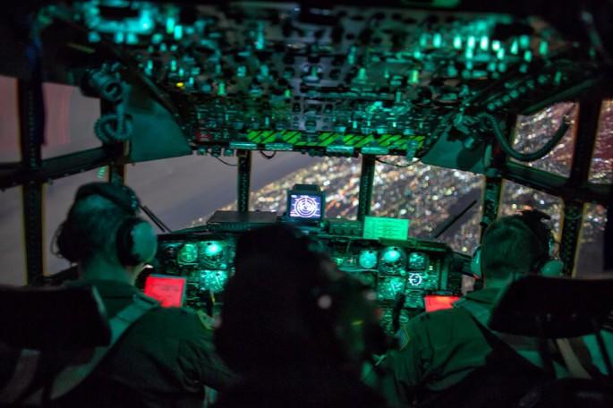 C-130 night