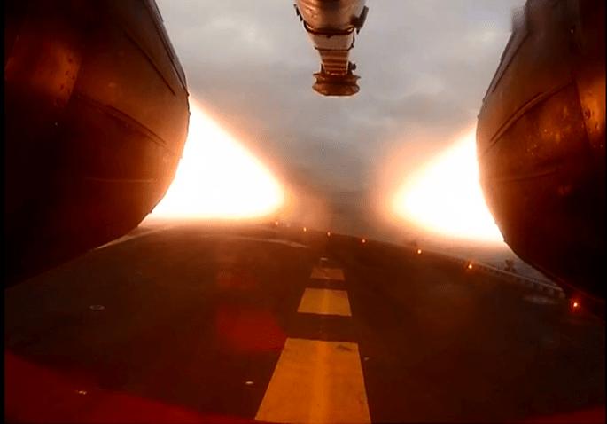 Mig-29 takeoff 1