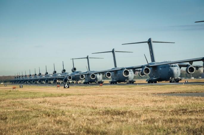 305th airmen, aircraft walk the walk