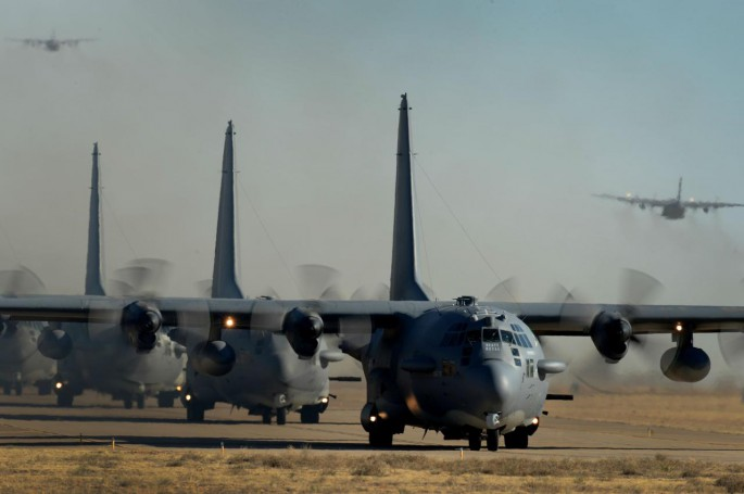 AC-130H Elephant Walk