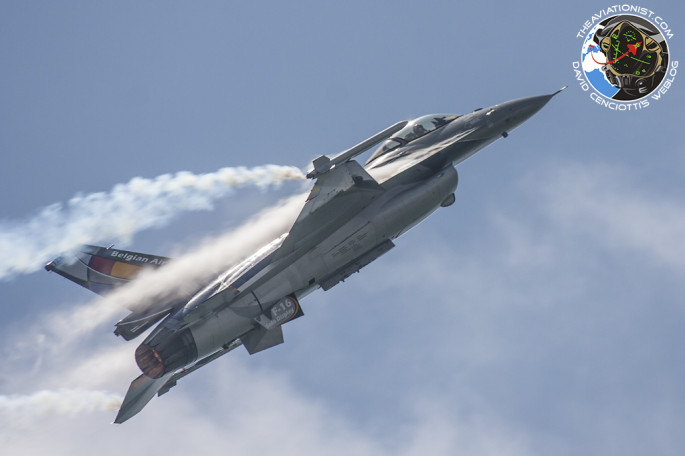 F-16 BAF climb