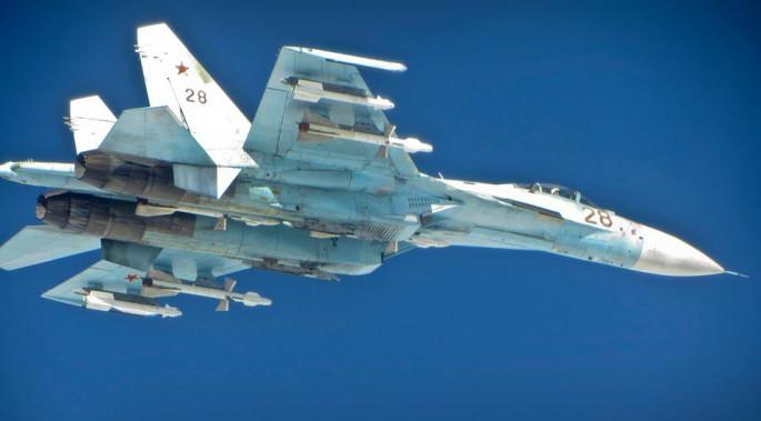 Su-27 RAF Typhoon