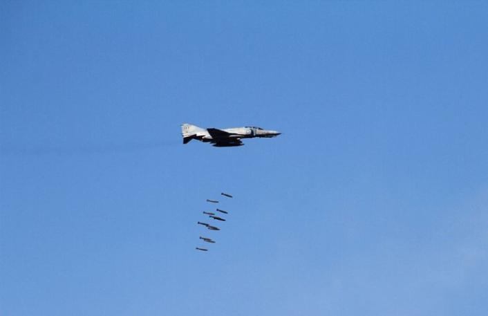 F-4 HAF live firing top