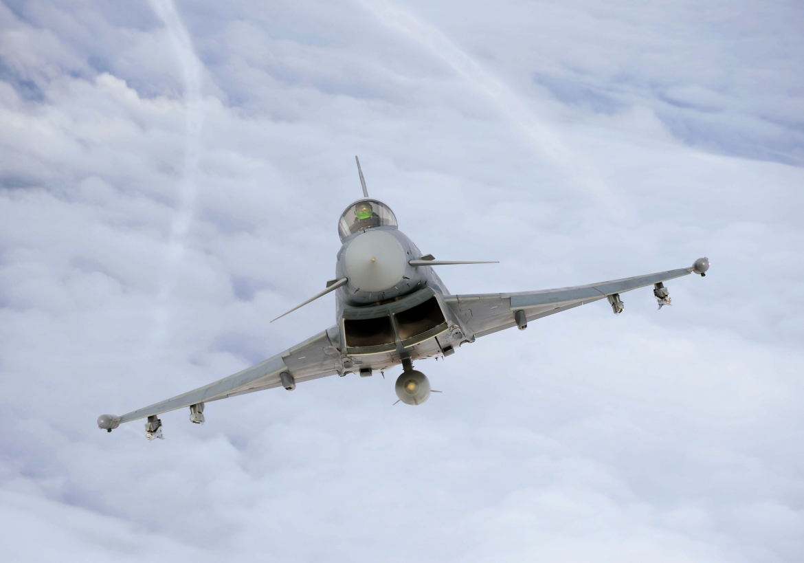 German Typhoons have intercepted 7 Russian Air Force combat planes over the Baltic Sea today