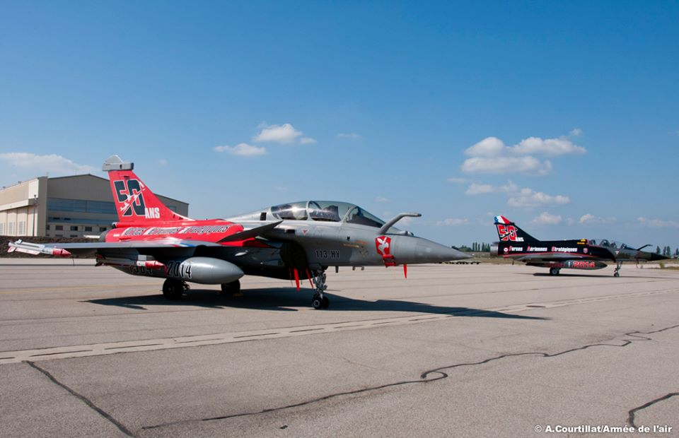 French Air Force celebrates 50th Anniversary of Strategic Air Forces