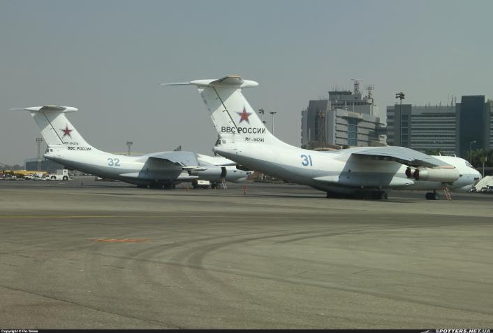 Il-78M Midas Cairo