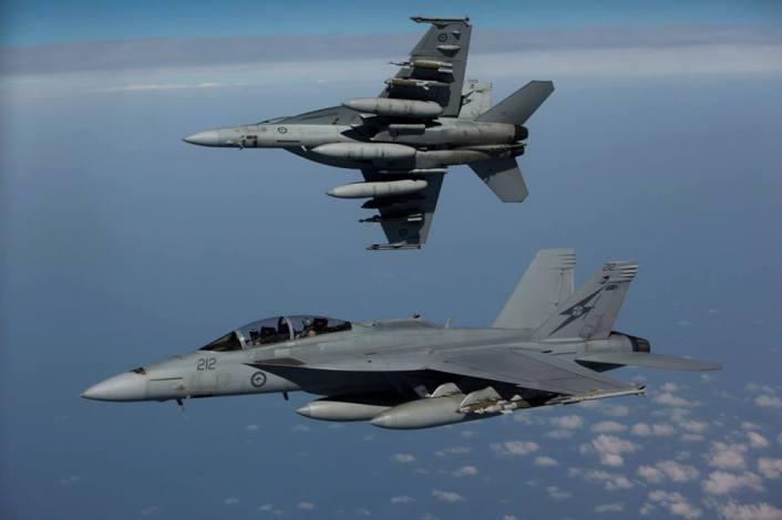 RAAF Hornet Iraq breakaway