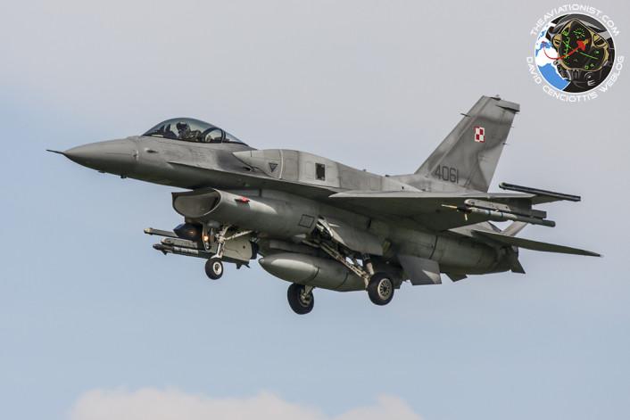 Polish F-16 NTM 2011