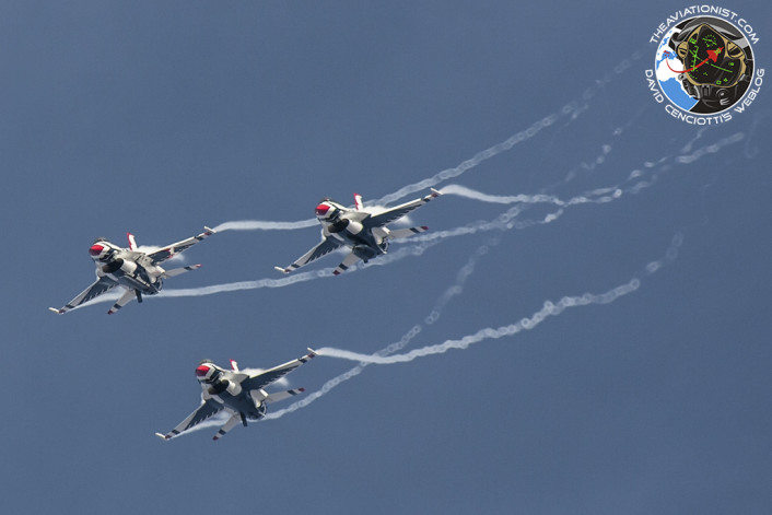 Thunderbirds practice