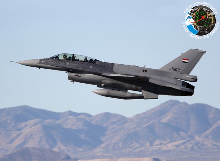 IAF 1602. F-16D-52-CF.156FS. IRAQ A-F. Tucson Int A-P. 06.02.2015