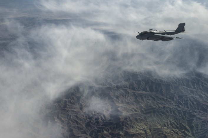 Prowler over Afghanistan