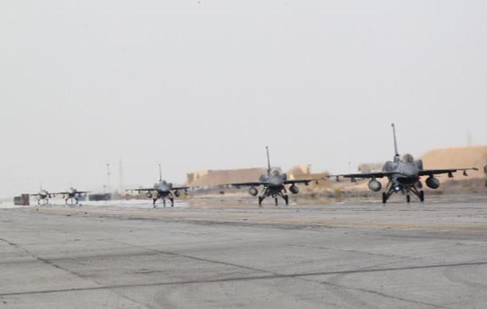UAE F-16 Jordan