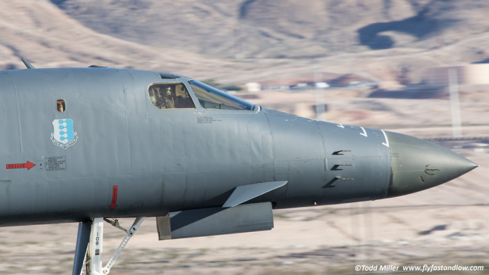 B-1 takeoff roll RF15-2