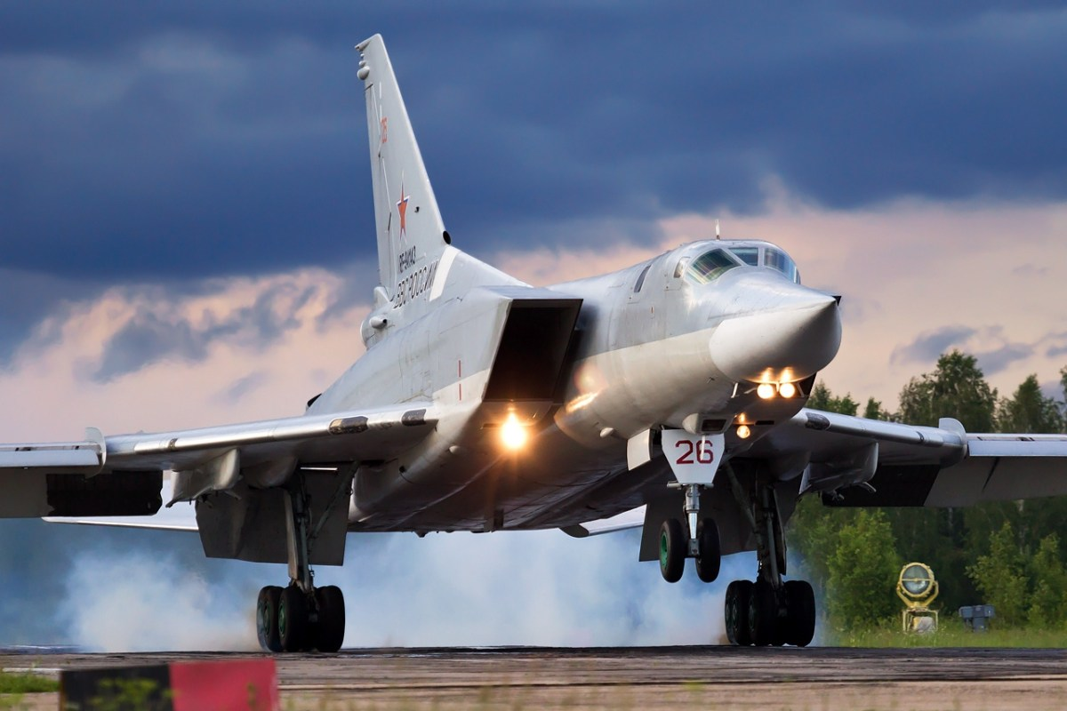 Russian Tu-22 bomber scares NATO air defenses flying at supersonic speed over the Baltic Sea for the first time