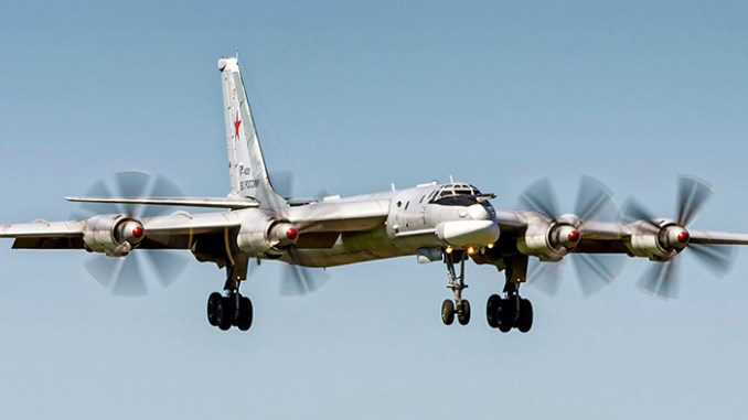 Russian Bombers Intrude Into The Us Air Defense Zone No